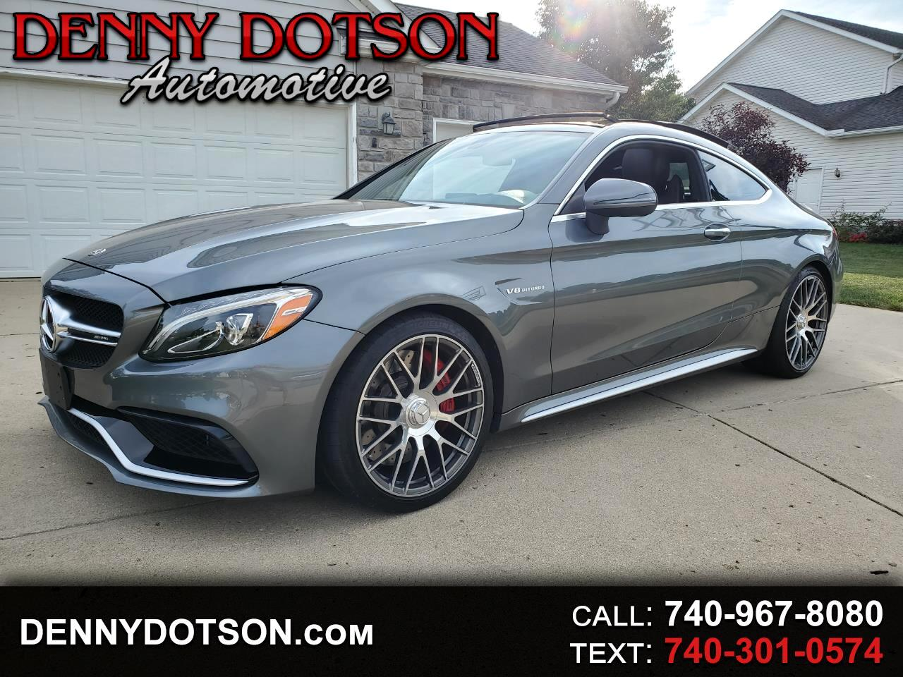 Mercedes-Benz C-Class AMG C 63 S Coupe 2018