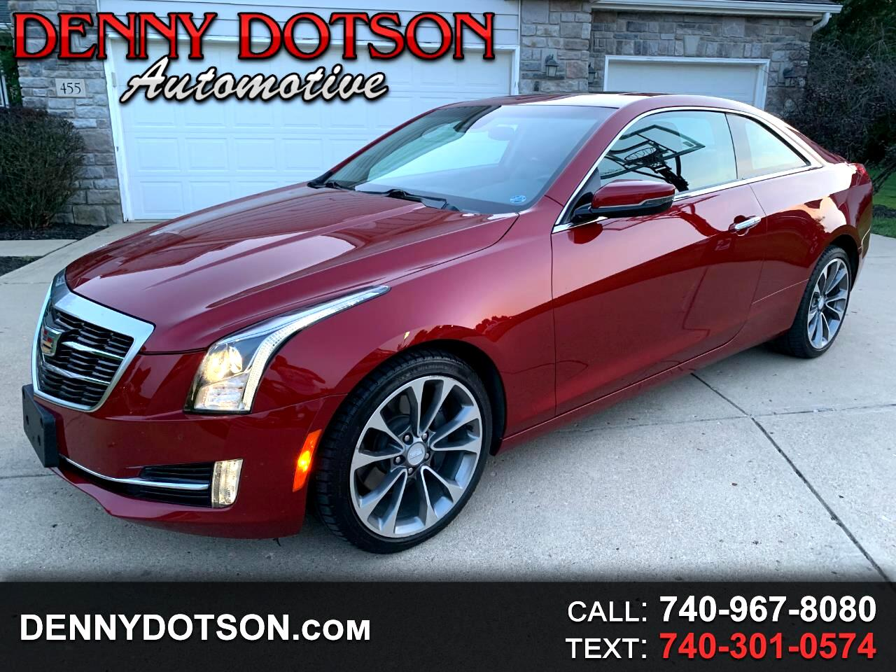Cadillac ATS Coupe 2dr Cpe 2.0L Performance AWD 2015