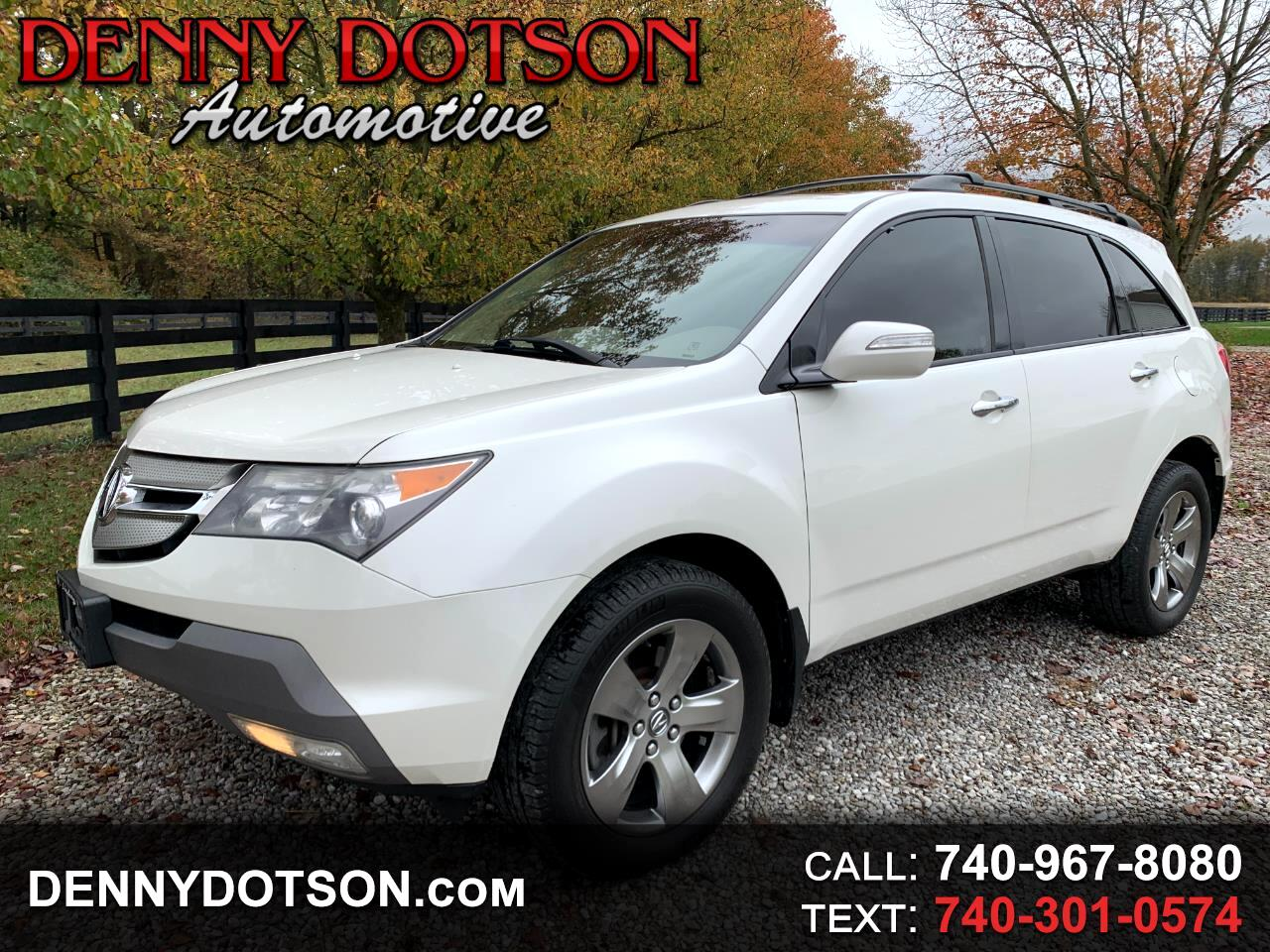 Acura MDX 4WD 4dr Sport/Entertainment Pkg 2008