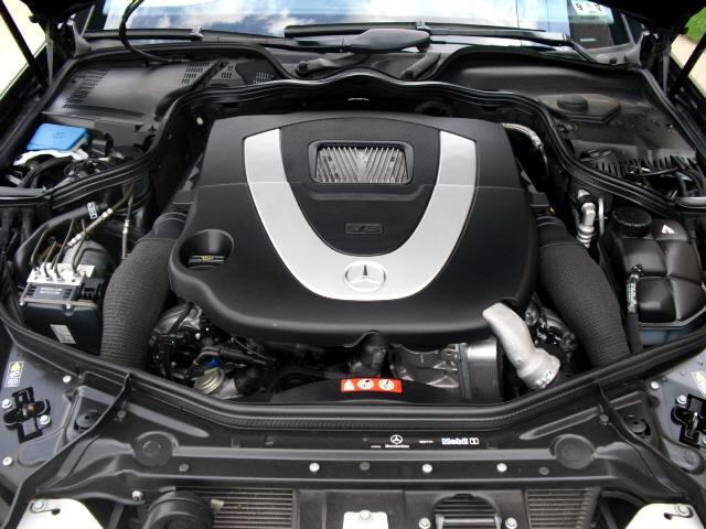 2007 Mercedes-Benz CLS-Class CLS550 4-Door Coupe
