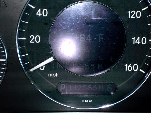 2003 Mercedes-Benz E-Class E320