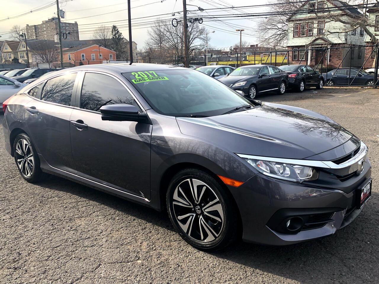 2017 Honda Civic EX-T Sedan CVT