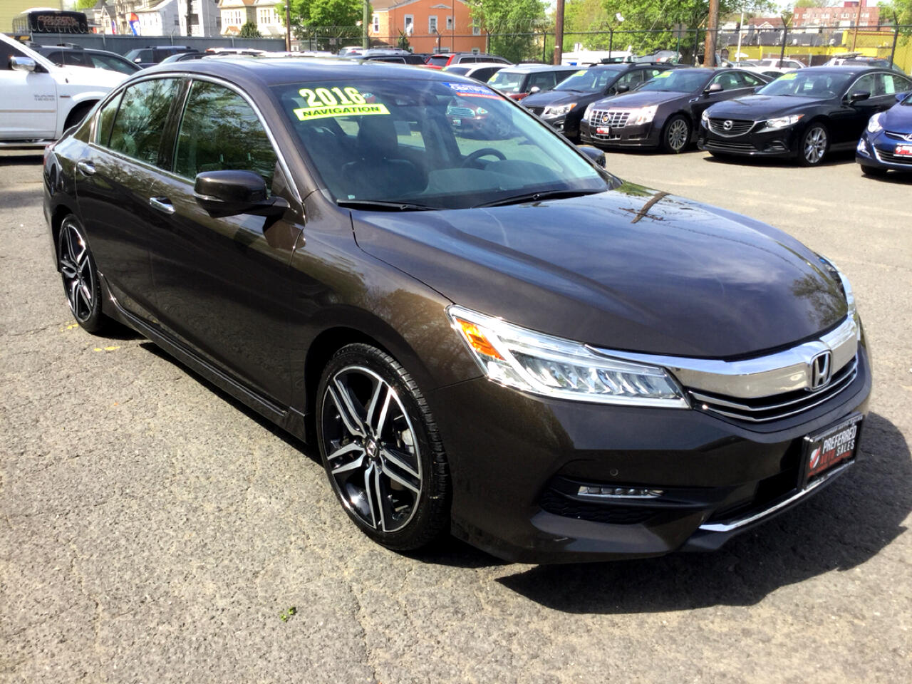 2016 Honda Accord Touring V6 Sedan 6-Spd AT