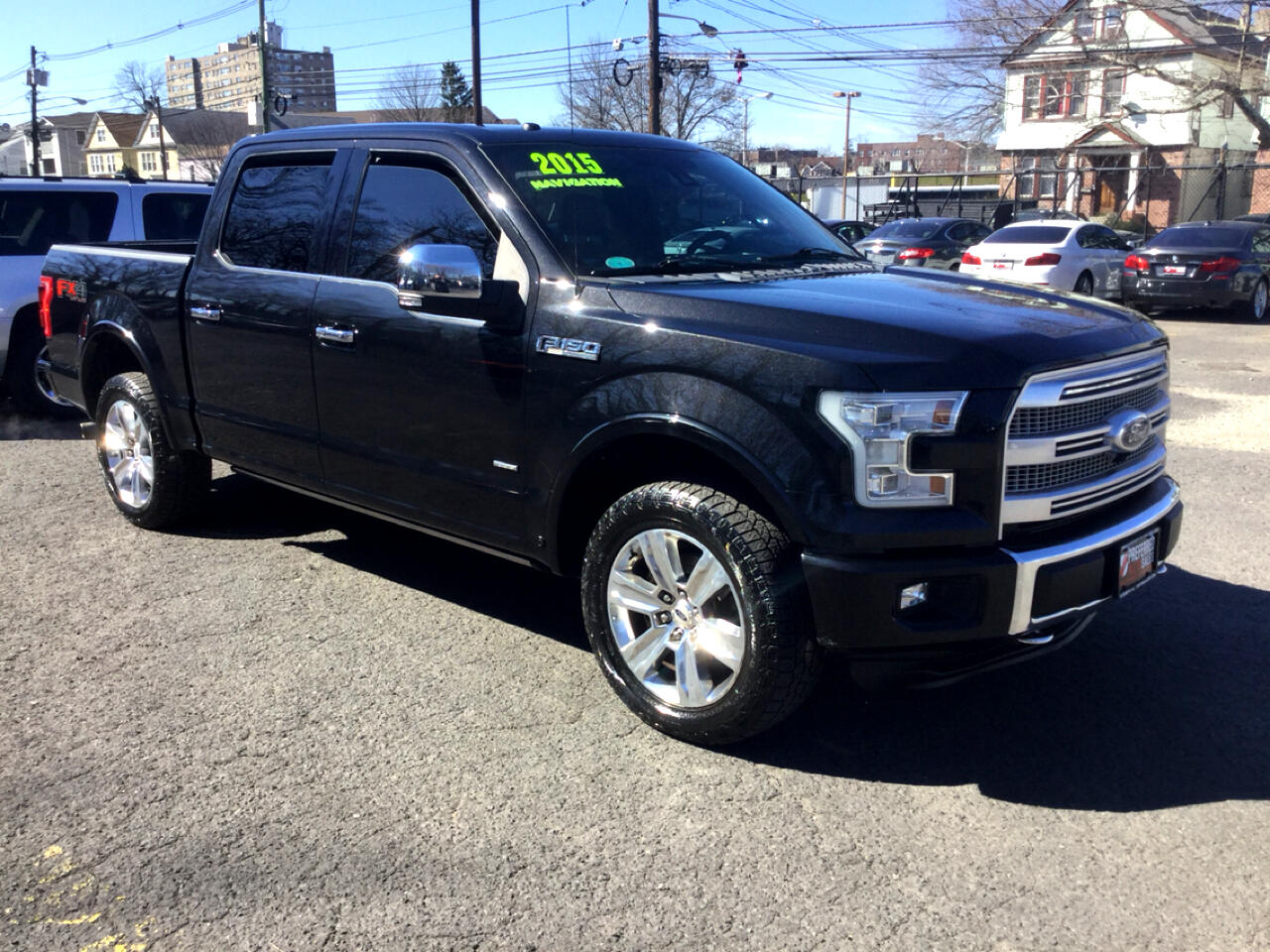 Ford F-150 XL SuperCrew 5.5-ft. Bed 4WD 2015