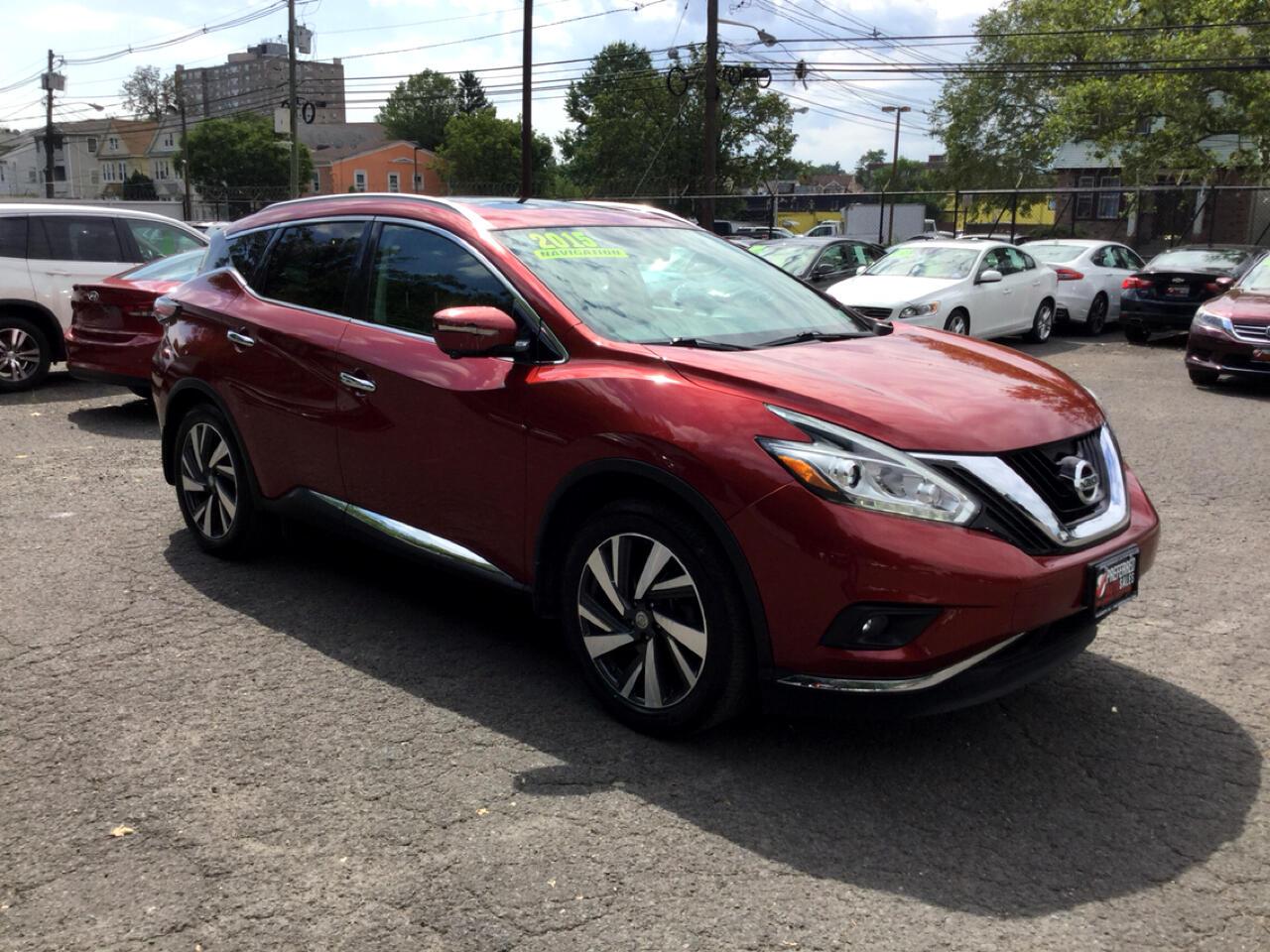 Nissan Murano Platinum AWD 2015