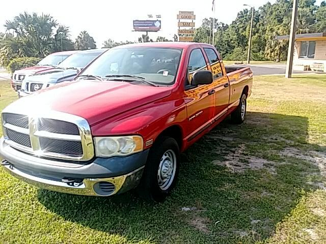 2005 Dodge Ram 2500 ST Quad Cab Long Bed 2WD