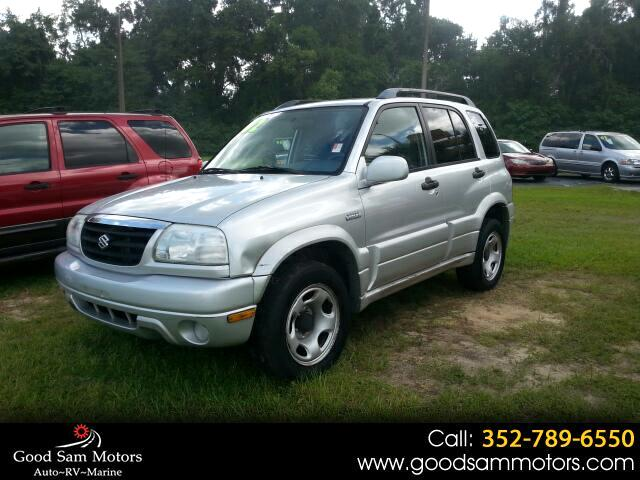 2002 Suzuki Grand Vitara 4dr JLX Manual 4WD