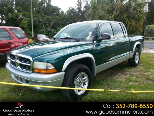 "2004 Dodge Dakota 4dr Quad Cab 131"" WB SLT"