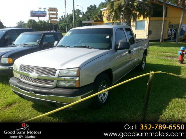 "2005 Chevrolet Silverado 1500 Ext Cab 143.5"" WB LS"