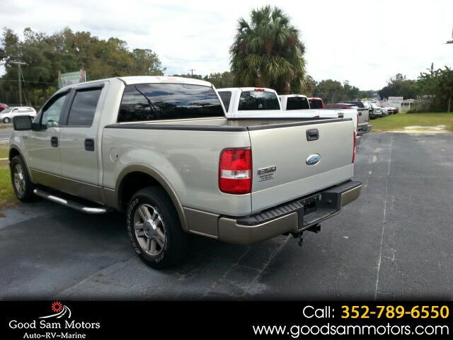 "2006 Ford F-150 2WD SuperCrew 139"" Lariat"
