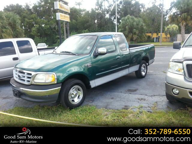 1999 Ford F-150 Supercab 139""
