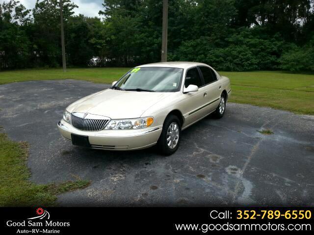 1999 Lincoln Continental 4dr Sdn