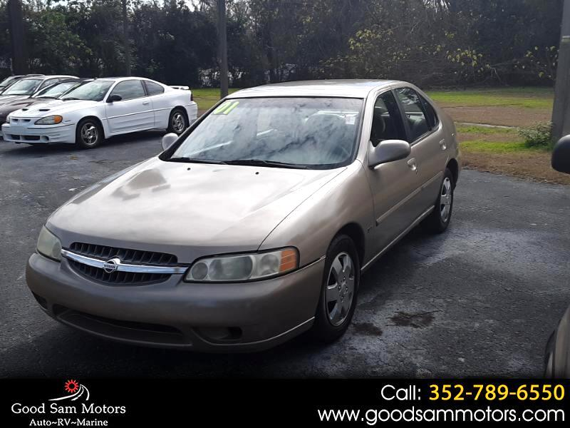 2001 Nissan Altima 4dr Sdn GXE Auto