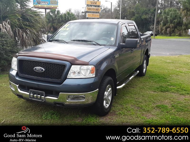 "2004 Ford F-150 SuperCrew 139"" XLT 4WD"