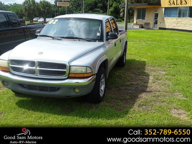 "2002 Dodge Dakota Quad Cab 131"" WB SLT"