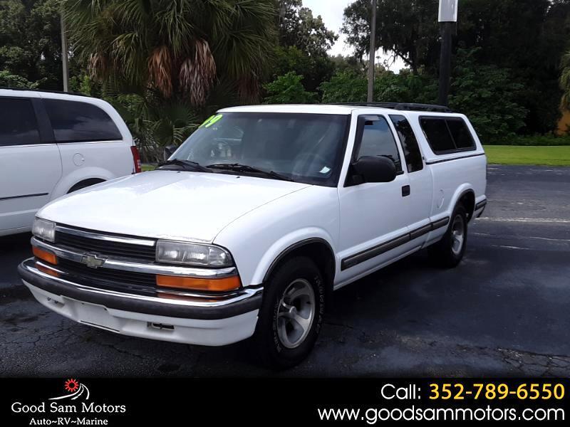 """1999 Chevrolet S-10 Ext Cab 123"""" WB LS"""