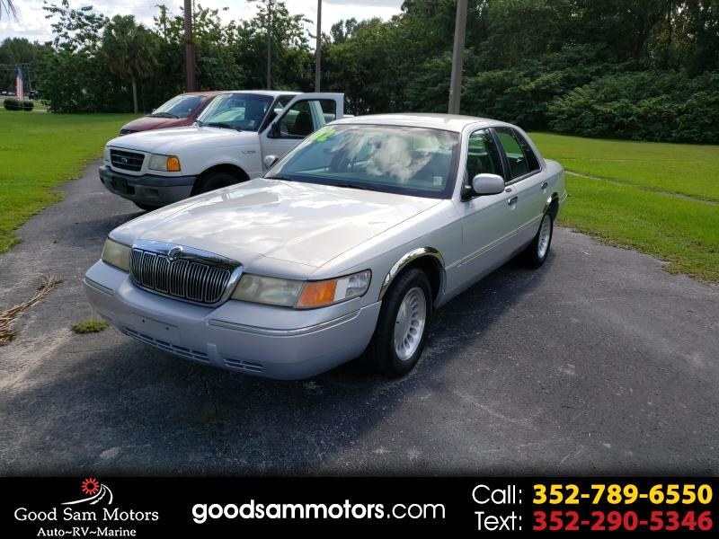 Mercury Grand Marquis 4dr Sdn LS Ultimate 2002