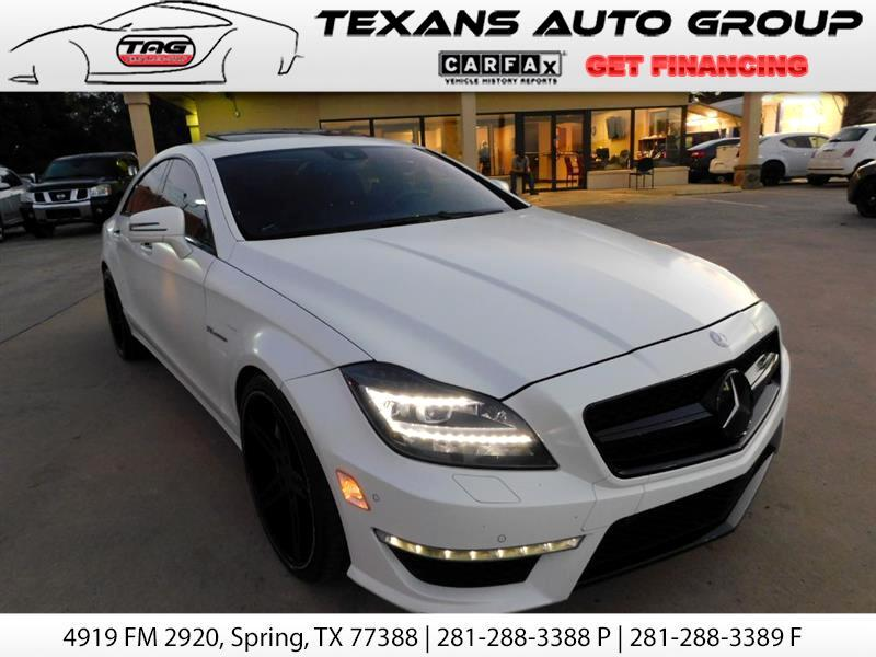 2012 Mercedes-Benz CLS-Class 63 AMG BITURBO 54K MLS