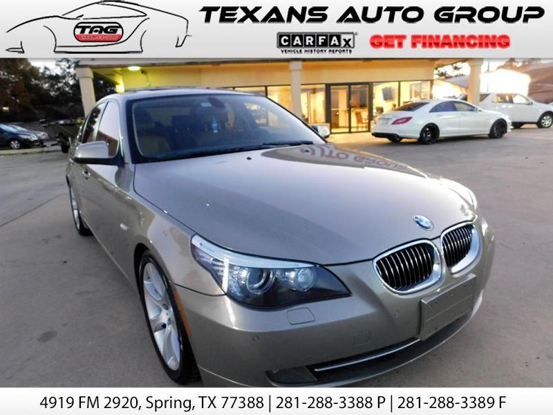 2010 BMW 5-Series SPORT 60K MLIES