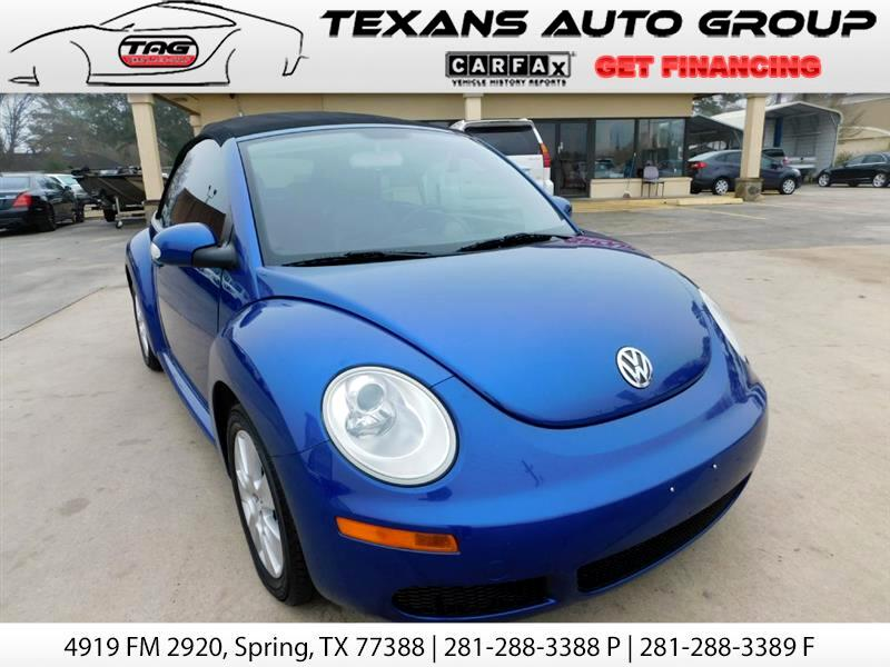 2008 Volkswagen New Beetle S PZEV Convertible