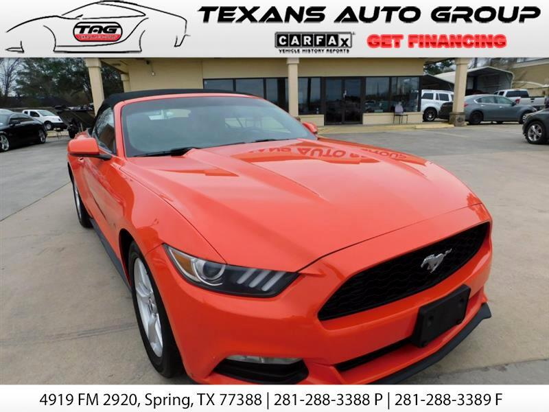 2015 Ford Mustang COVERTIBLE 68K MINT