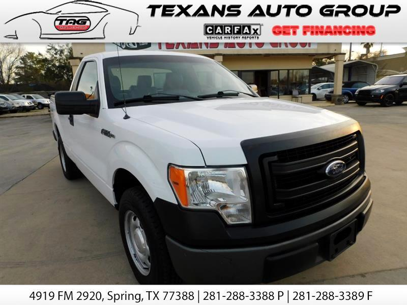 2014 Ford F-150 XL SINGLE CAB SHORT BED