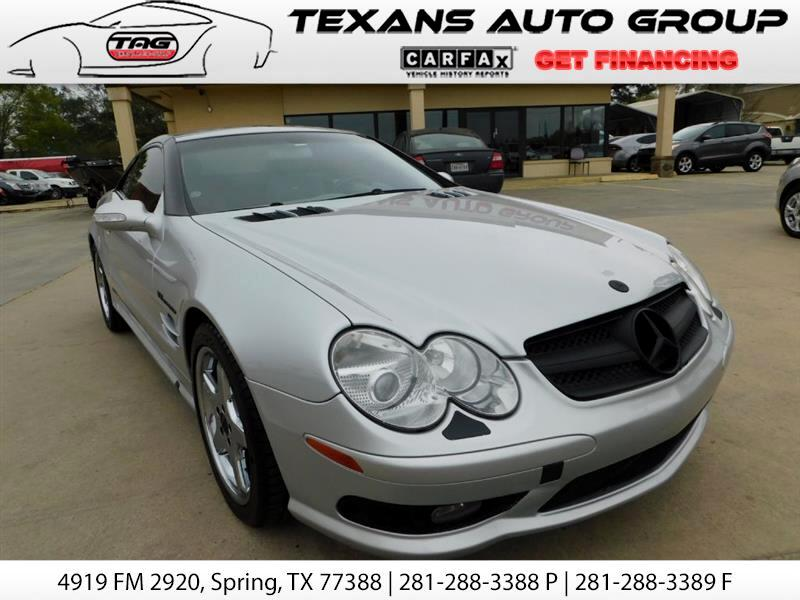 2003 Mercedes-Benz SL-Class 55 AMG SUPERCHARGED