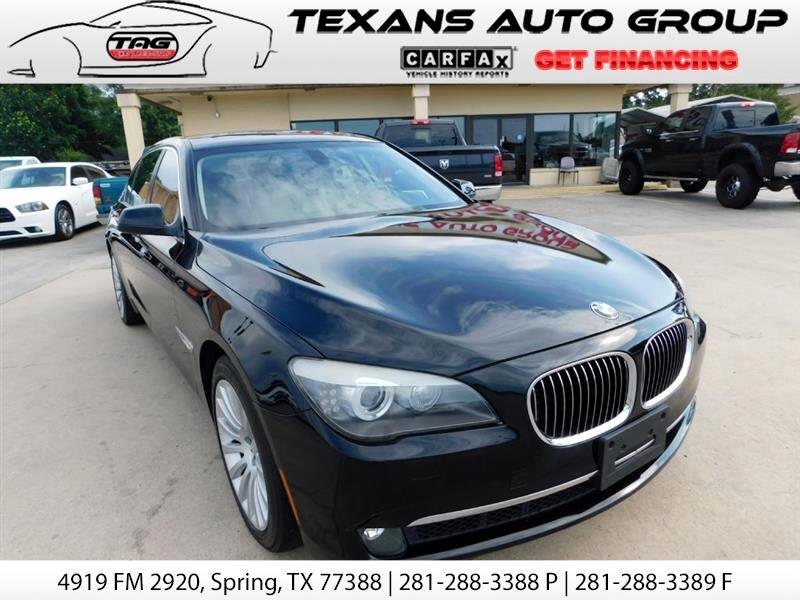 2012 BMW 7-Series LI NAV BACKUP SNRF XM BLUTOOTH