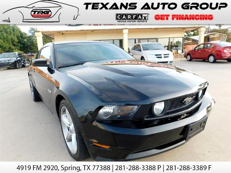 2011 Ford Mustang GT PREMIUM 5.0 LITRE 6 SPEED