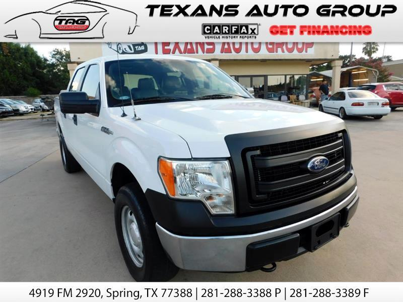 2014 Ford F150 SUPERCREW 4WD