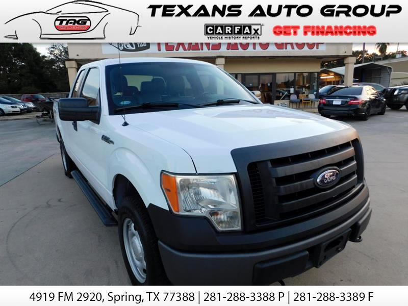 2012 Ford F-150 SUPER CAB 4X4 4WD
