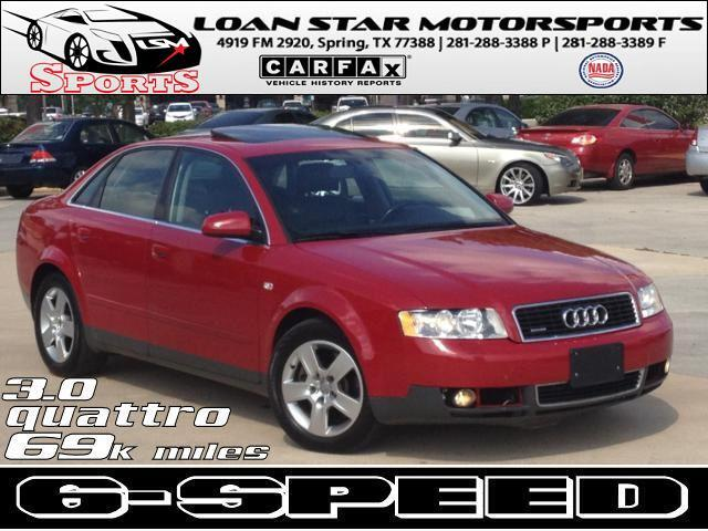 Audi A4 3.0 quattro with Tiptronic 2002