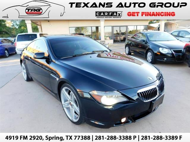 2005 BMW 6-Series 645Ci Coupe
