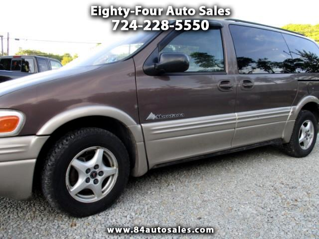 2000 Pontiac Montana 4-Door Extended