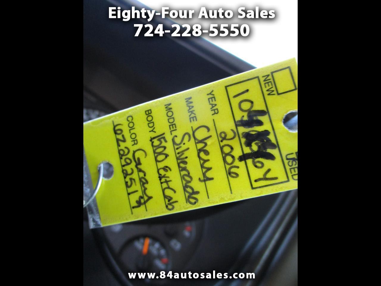 "Chevrolet Silverado 1500 Ext Cab 143.5"" WB 4WD Work Truck 2006"