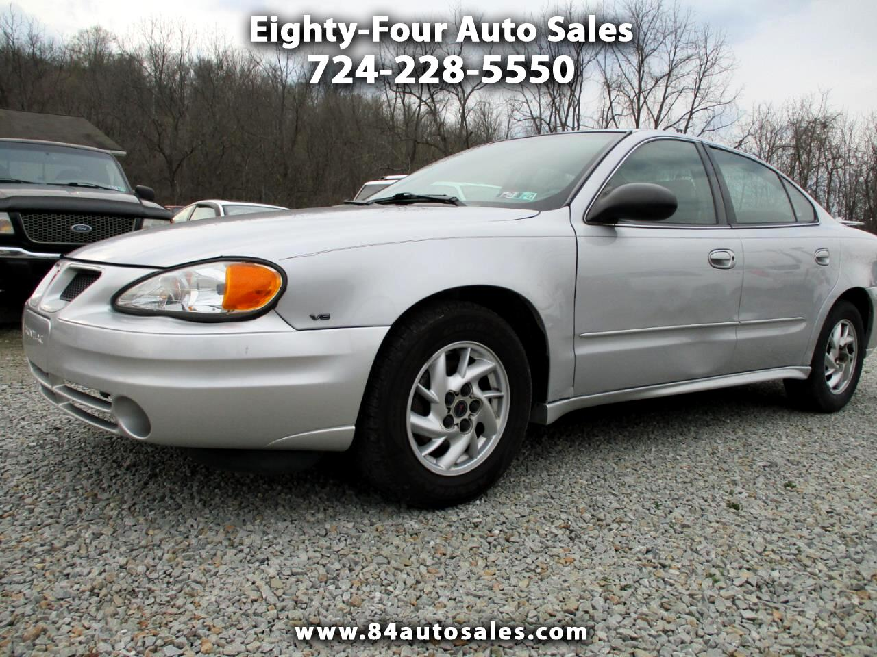 Pontiac Grand Am 4dr Sdn SE1 2004