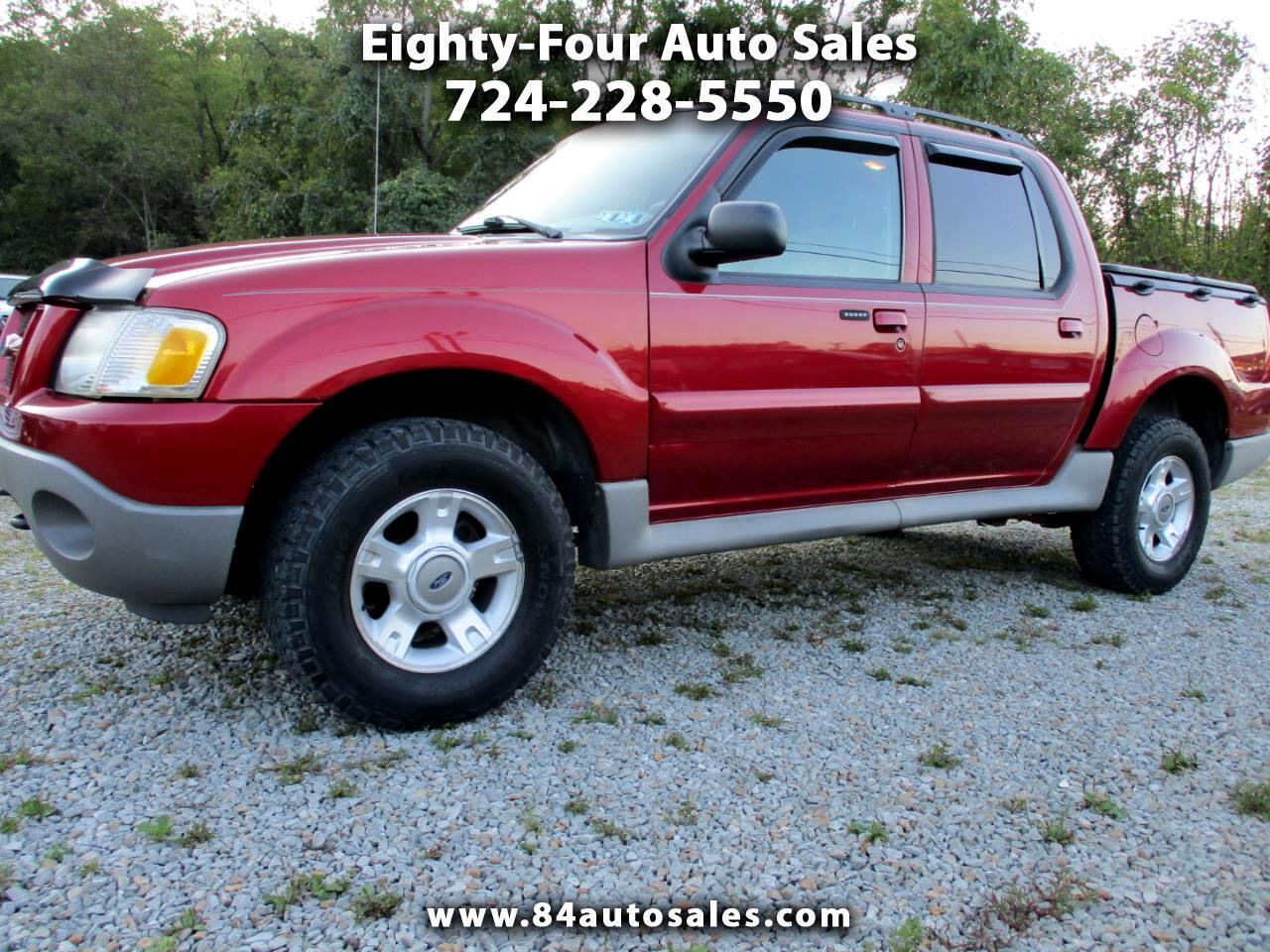 "Ford Explorer Sport Trac 4dr 126"" WB 4WD XLT Premium 2003"