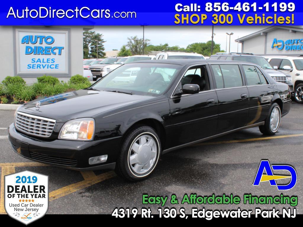 2000 Cadillac DeVille Professional 4dr Sdn Limousine