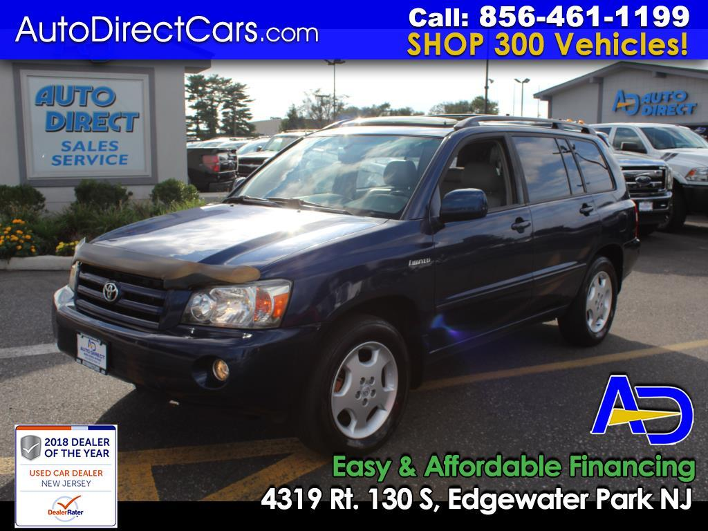2005 Toyota Highlander 4dr V6 4WD Limited w/3rd Row (Natl)