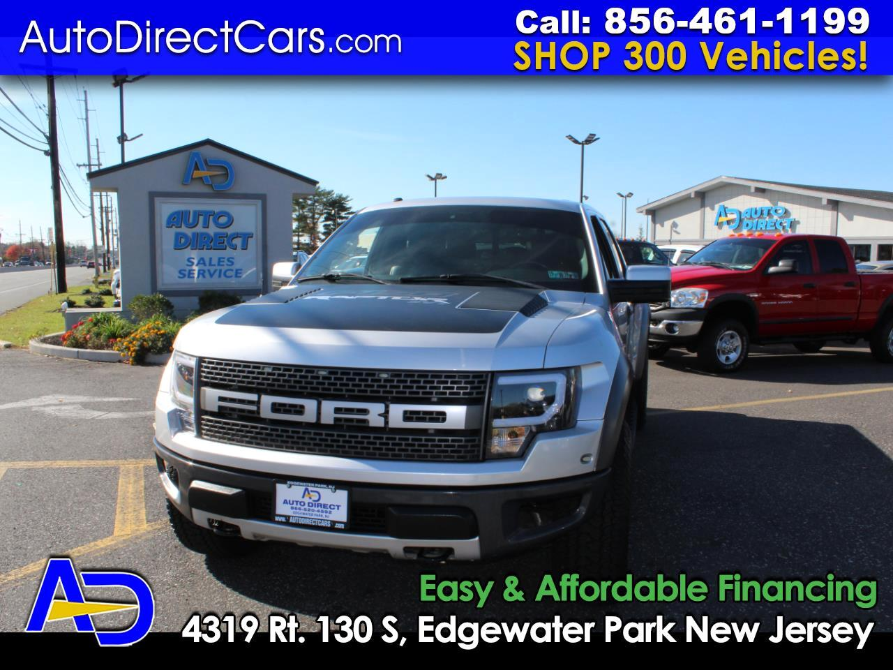 "2011 Ford F-150 4WD SuperCrew 145"" SVT Raptor"