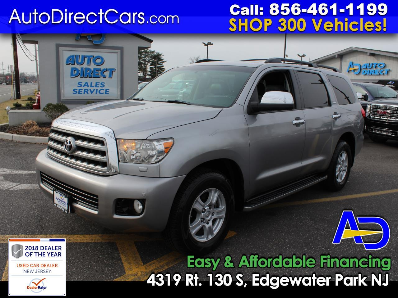 2008 Toyota Sequoia 4WD 4dr LV8 6-Spd AT Ltd (Natl)