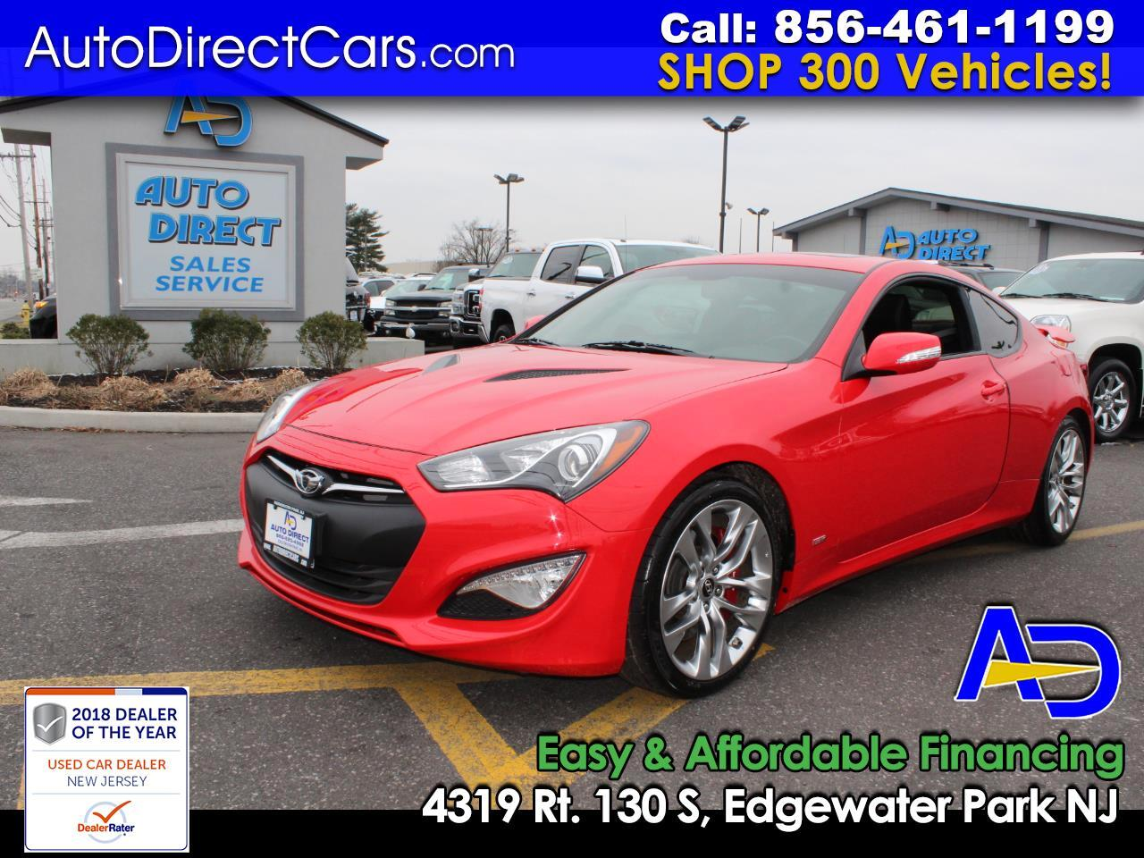 2015 Hyundai Genesis Coupe 2dr 3.8L Auto Ultimate w/Black Seats