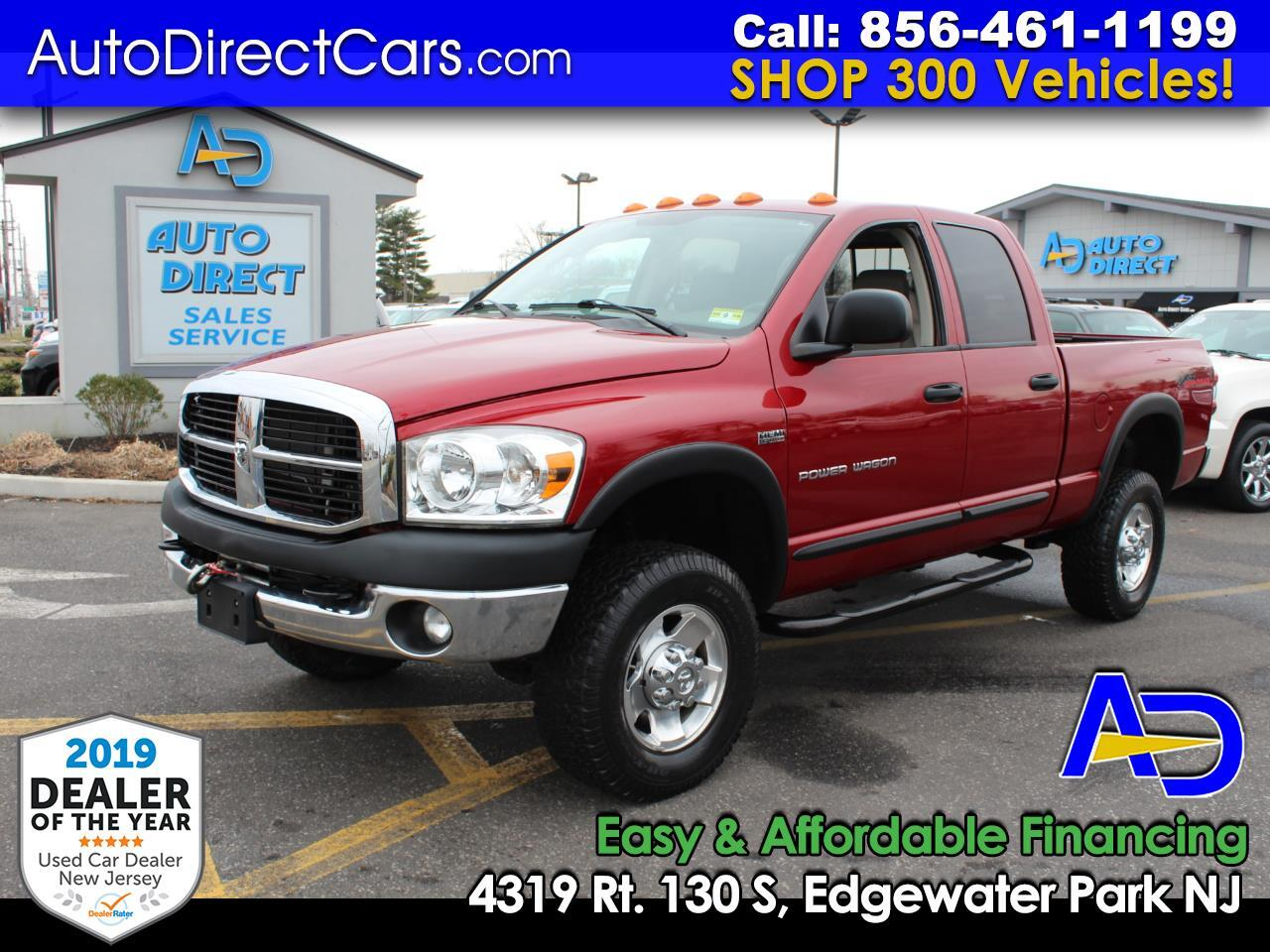 "2009 Dodge Ram 2500 4WD Quad Cab 140.5"" Power Wagon"