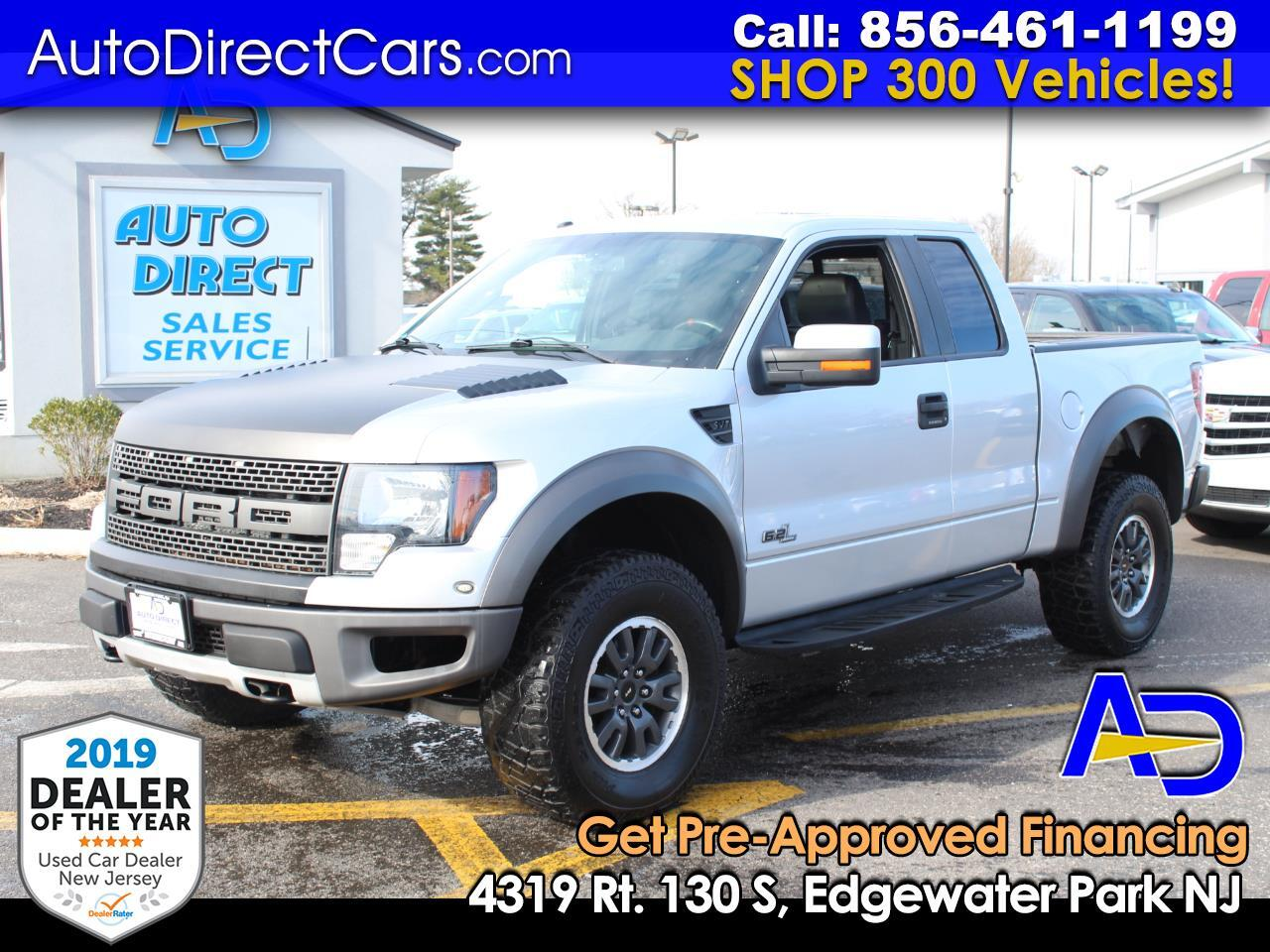 "Ford F-150 4WD SuperCab 133"" SVT Raptor 2011"