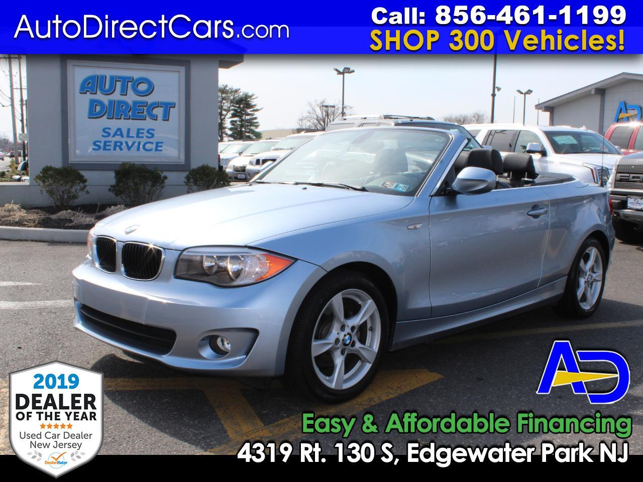 2012 BMW 1 Series 2dr Conv 128i