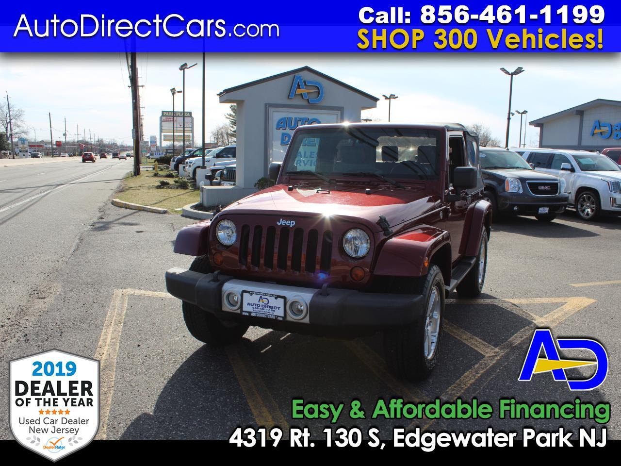 2009 Jeep Wrangler 4WD 2dr Sahara