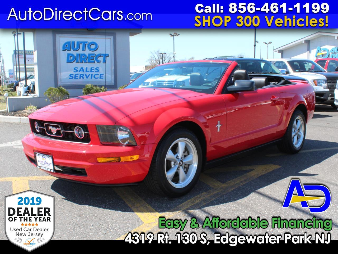 2008 Ford Mustang 2dr Conv Premium