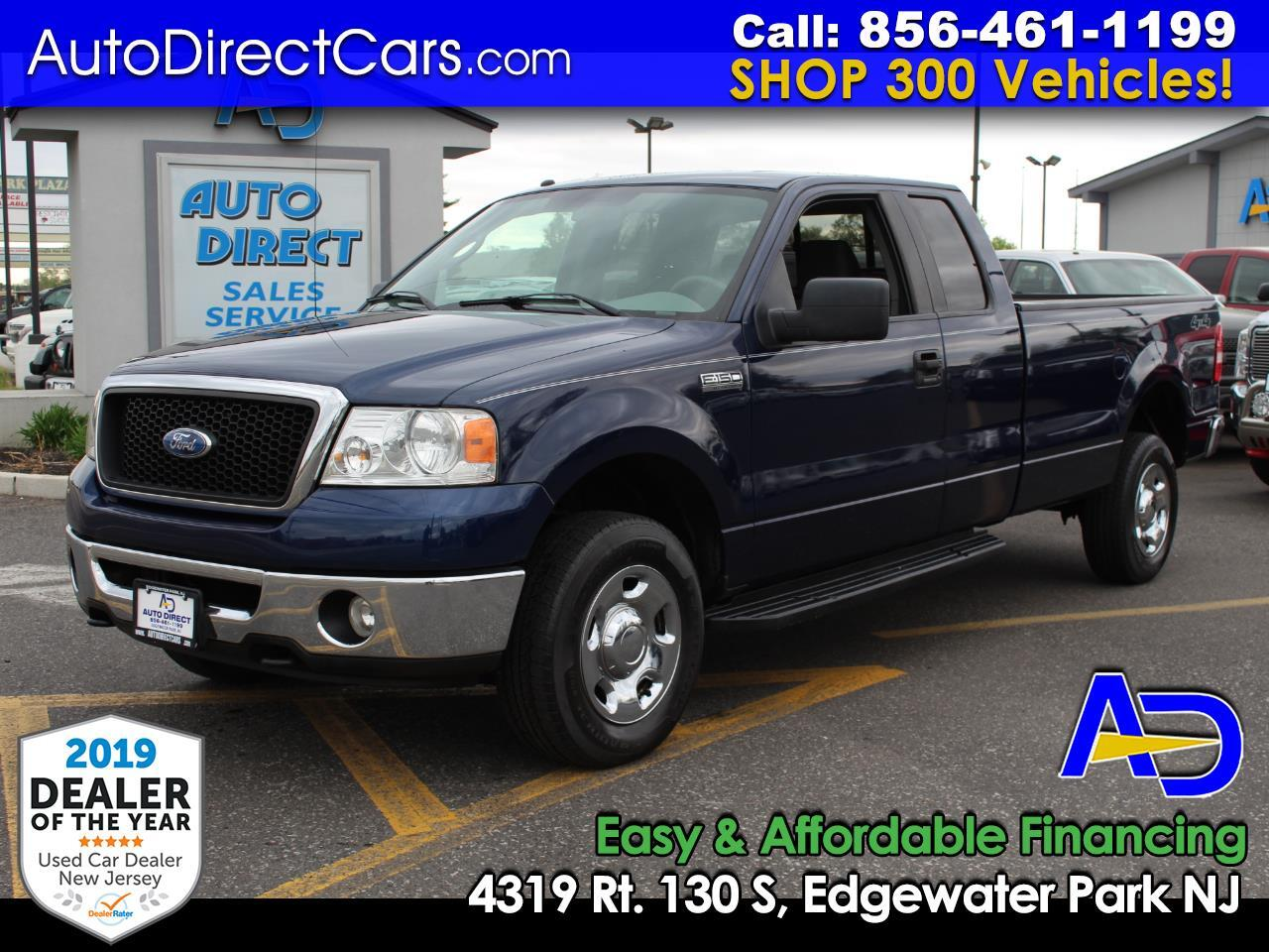 "2007 Ford F-150 4WD Supercab 163"" XLT"