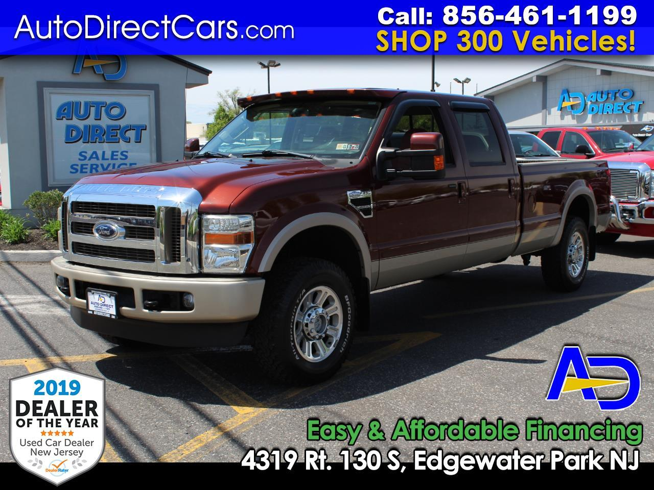 "2008 Ford Super Duty F-250 SRW 4WD Crew Cab 172"" King Ranch"