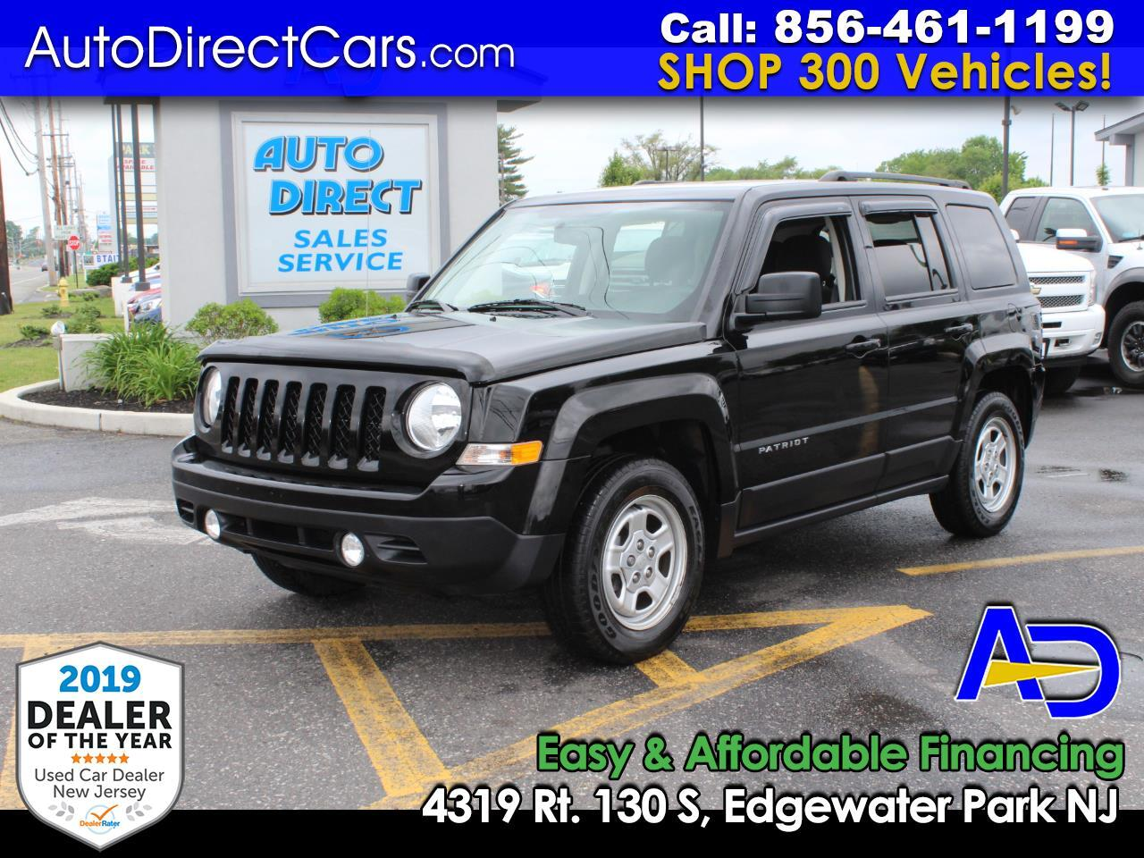 2017 Jeep Patriot FWD 4dr Sport SE